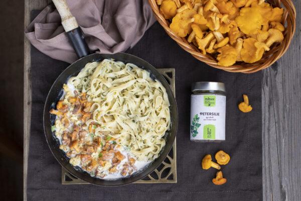 Eierschwammerl Pasta Rezept Blog